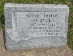 Maude Lee <i>Taylor</i> Ballinger