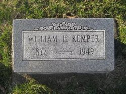 William H Kemper