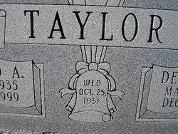 Deletta Sue <i>Wilson</i> Taylor