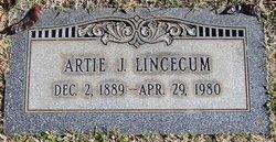 Artie J Lincecum