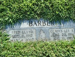 Gladys Lee <i>Patterson</i> Barber