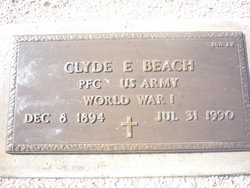 Clyde E Beach
