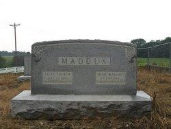 Nancy Josephine Josie <i>Wallace</i> Maddux