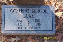 Catherine <i>Munroe</i> Boaz