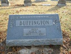 Alice <i>Hanks</i> Buffington