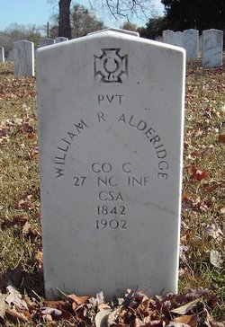 Pvt William R. Alderidge