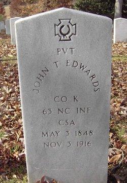 Pvt John T. Edwards