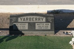 Joe Henry Yarberry
