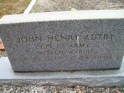 John Henry Autry