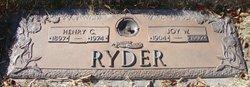 Joy Wilma <i>Barber</i> Massey Ryder
