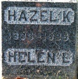 Hazel K Burger