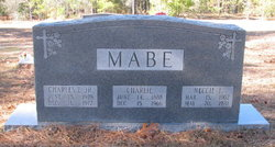 Charles Efron Mabe, Jr