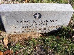 Sgt Isaac R Barnes