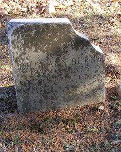 Julia Ann Burns