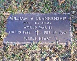 William A Blankenship