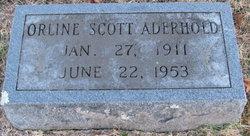 Orlene <i>Scott</i> Aderhold