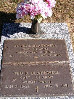 Capt Agnes L. Blackwell