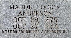 Maude Nason Anderson
