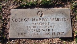LCDR George Hardy Webster