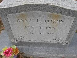 Annie L Batson