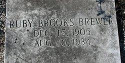 Ruby <i>Brooks</i> Brewer