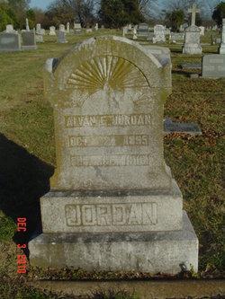 Alvan E Jordan