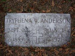 Mrs Tryphena Vashti <i>Walker</i> Anderson