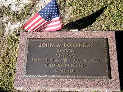 John A Boronkas
