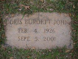 Doris Elise <i>Burkhalter</i> Burdett John