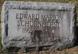 Edward Marion Schornherst