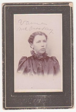 Virginia Vandalia Vannie <i>McCroskey</i> Doran