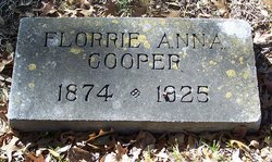 Florrie Anna <i>Neale</i> Cooper