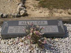 John F Alexander