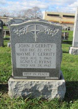 Mary Frances <i>Byrne</i> Gerrity