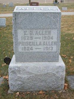 Sgt Erasmus D Allen