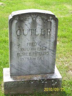 Elsie E <i>Phillips</i> Cutler