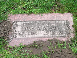 Rose A Adams