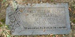 Chauntelle M <i>Dupre</i> Broussard