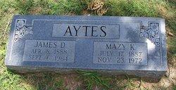 Mazy Karie <i>Billingsley</i> Aytes