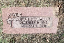Dorothy Mae <i>Collins</i> Welch
