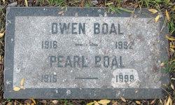 Pearl Lee Etta <i>Hosley</i> Boal