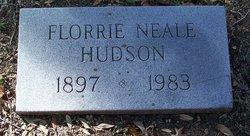 Florrie Neale <i>Cooper</i> Hudson