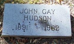 John Gay Hudson