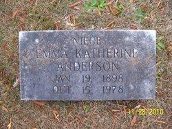 Emma Katherine Anderson