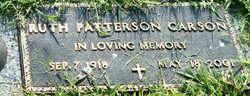 Ruth <i>Patterson</i> Carson