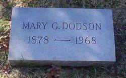 Mary <i>Galloway</i> Dodson