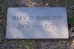 Mary Ward <i>Dodson</i> Hamilton