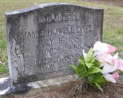 Mamie <i>Howell</i> Davis