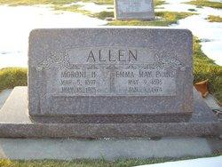 Emma May <i>Evans</i> Allen