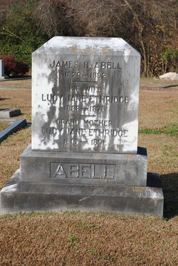 Lucy Jane <i>Ethridge</i> Abell